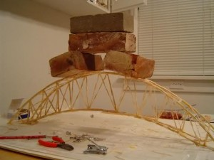 Strong Toothpick Bridge