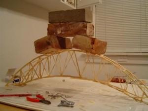 Strong Toothpick Bridge