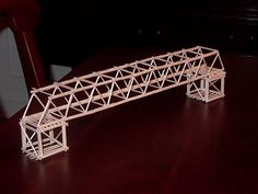 Toothpick Bridge Idea