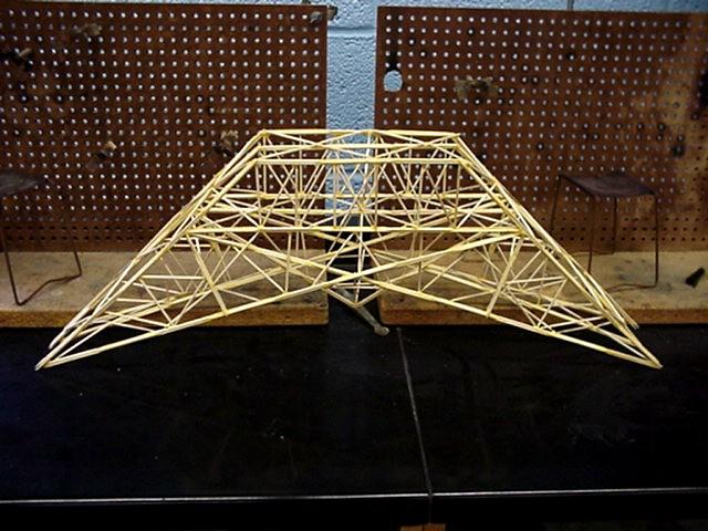 Toothpick Building Designs