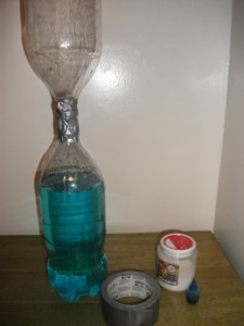 Materials for Tornado in a Bottle