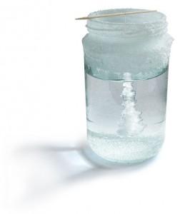 Salt Crystals Experiment