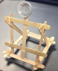 Easy Popsicle Stick Catapult Design