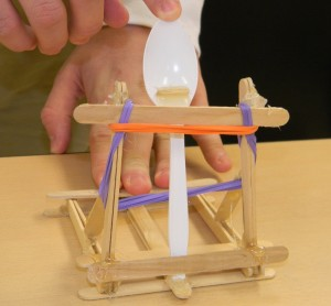 Simple Popsicle Stick Catapult