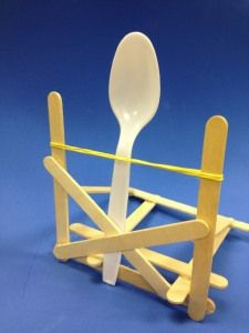Small Popsicle Stick Catapult