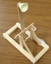 Toy Popsicle Stick Catapult