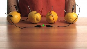 Lemon Battery LED