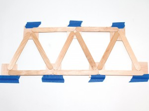 Popsicle Stick Bridge Picture 1