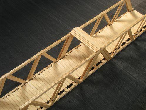 How To Build A Popsicle Stick Bridge Science Project Ideas