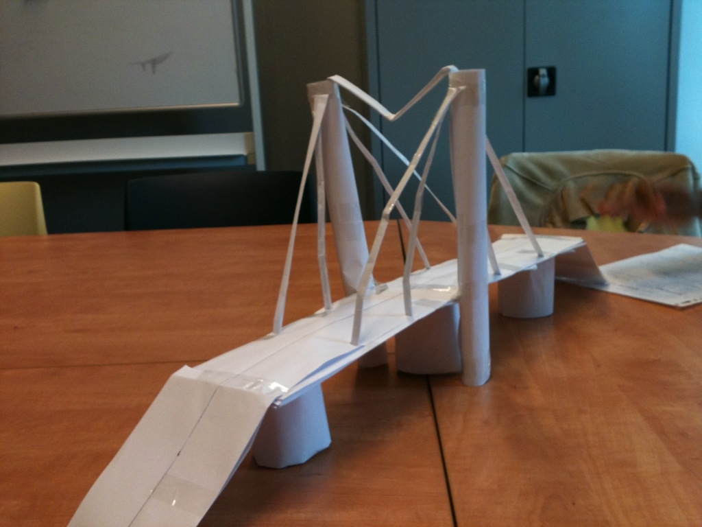 How To Make Paper Bridges